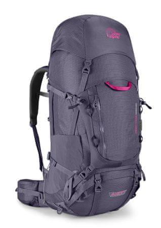 Lowe Alpine plecak trekkingowy Axiom 7 Cerro Torre Nd 60:80 Aubergine/Au