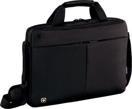 """Wenger FORMAT tenká brašna na 14"""" notebook a tablet, černá (601079)"""