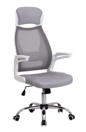 Pisarniški stol OS58, siv