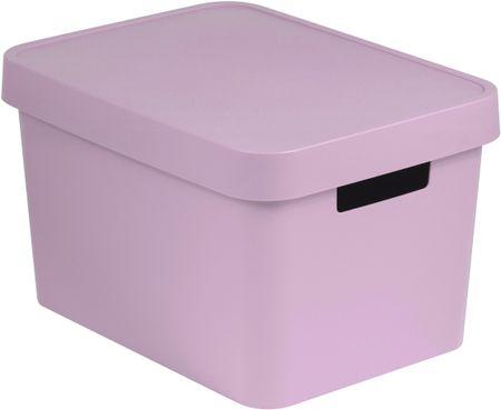 5f274634a Curver Úložný box s víkem Infinity 17 l růžová | MALL.CZ