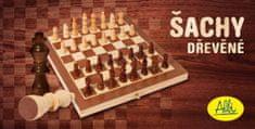 Albi Šachy - dřevěné