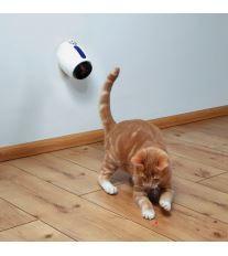 Trixie Laserová hračka pre mačky 11cm bielo modrá