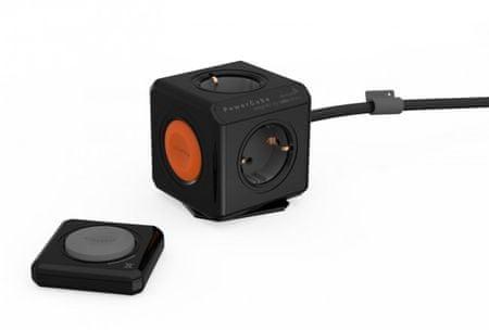 PowerCube električni razdelilec Remote, črn