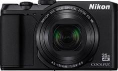 Nikon fotoaparat Coolpix A900 + SD 16GB + Manfrotto SCP-5BC