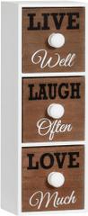 TimeLife Skrinka Live & Laugh & Love