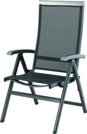 Riwall Krzesło Ogrodowe Składane Forios