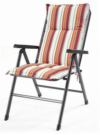 RIWALL Hartman Kerti ülőpárna, Narancs, 100x50x6 cm