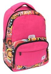Street ruksak Round Resolute, ružičasti