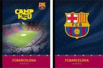 Barcelona FC bilježnica tvrda A4, crte s rubom 60L