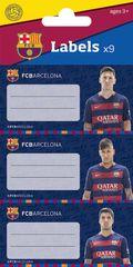 Barcelona FC etiketa za zvezek 9/1