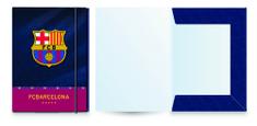 Barcelona FC fascikl s gumicom, A4
