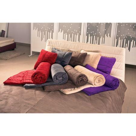 Vitapur dekorativna odeja SoftTouch 4v1, 140 X 200, bež