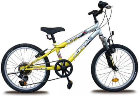 """Olpran Boston 20"""" Gyermek Kerékpár, Sárga"""