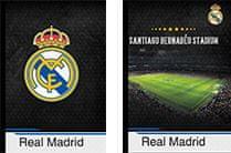 FC Real Madrid bilježnica tvrda A4, crte s rubom 80L