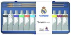 FC Real Madrid tempera barvice 10 ml, 12 kosov