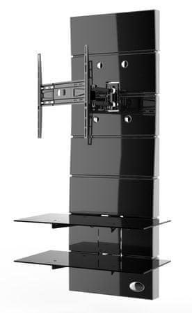 Meliconi Ghost Design 3000 ROTATION, czarny