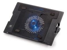 Conceptronic stalak s ventilatorom za prijenosno računalo Foldable Cooling Stand