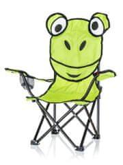 Happy Green Kreslo detské, dekor žaba