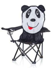 Happy Green Kreslo detské, dekor panda
