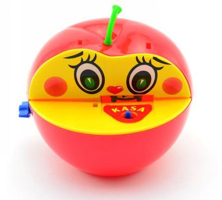Teddies Pokladnička Jablko s červíkom