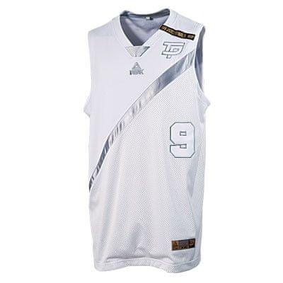 Peak košarkarska majica F733211, L, bela
