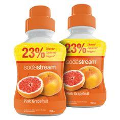 SodaStream Grépfrút Ízű Szörp, 2 x 750 ml