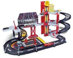BBurago Garaż Racing Garage, 18-30197 + samochodzik