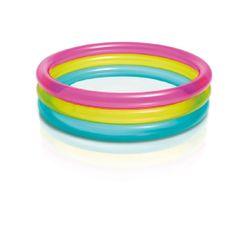 Intex Rainbow 3 gyűrűs medence, 86x25cm, (57104)