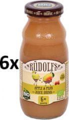 RUDOLFS BIO Dětský juice jablko+hruška - 6x190