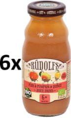 RUDOLFS BIO Dětský juice hruška+dýně+kdoule - 6x190