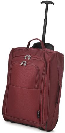REAbags Western Gear utazóbőrönd piros