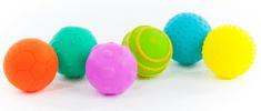 Teddies BABY Sada míčků s texturou