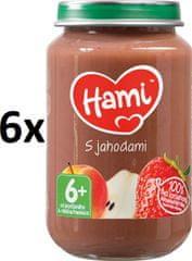 Hami S jahodami - 6 x 200g