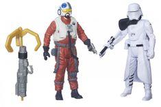 Star Wars Dvojbalenie figúrok Snap Wexley a Snowtrooper officer