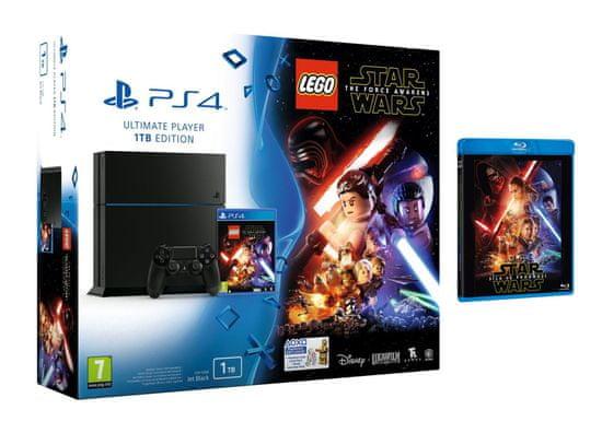 sony playstation 4  1tb  lego star wars the force