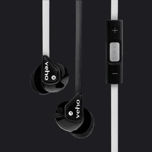 Veho slušalke Z-2 VEP-004-Z2BW, črno/roza
