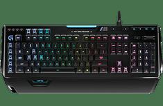 Logitech tipkovnica G910 Orion Spectrum, Logitech, USB, US-SLO tisk