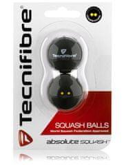 Tecnifibre žogice tekmovalne Absolute Squash, 2 kosa