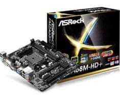 ASRock matična ploča FM2A68M-HD+, FM2+, ATX