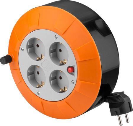 Goobay kasetni podaljšek 5 m, 4x230V z zaščito