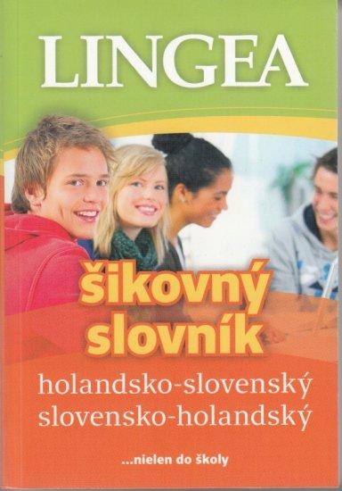 autor neuvedený: LINGEA holandsko-slovenský slovensko-holandský šikovný slovník