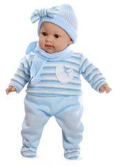 Arias Plačúce bábätko v modrých šatách