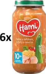Hami Penne s tuňákem, rajčaty a cuketou - 6 x 250g