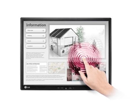 LG LED IPS monitor 19MB15T-I, na dotik