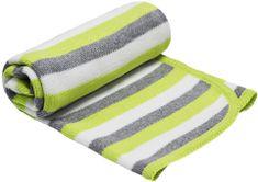 EKO Pletená deka pruh