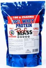 ProfiMass Profi 100% Whey Protein 1100 g borůvka