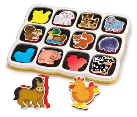 Quercetti Farm Okos puzzle