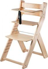Wood Partner Dětská rostoucí židle buk - rozbaleno