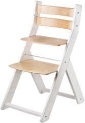 Wood Partner Dětská rostoucí židle SANDY bílá