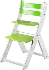 Wood Partner Krzesełko dla dziecka SANDY białe